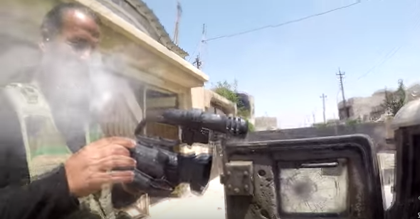 Watch An Iraqi Journalist's Camera Get Hit By A Bullet Mid ...