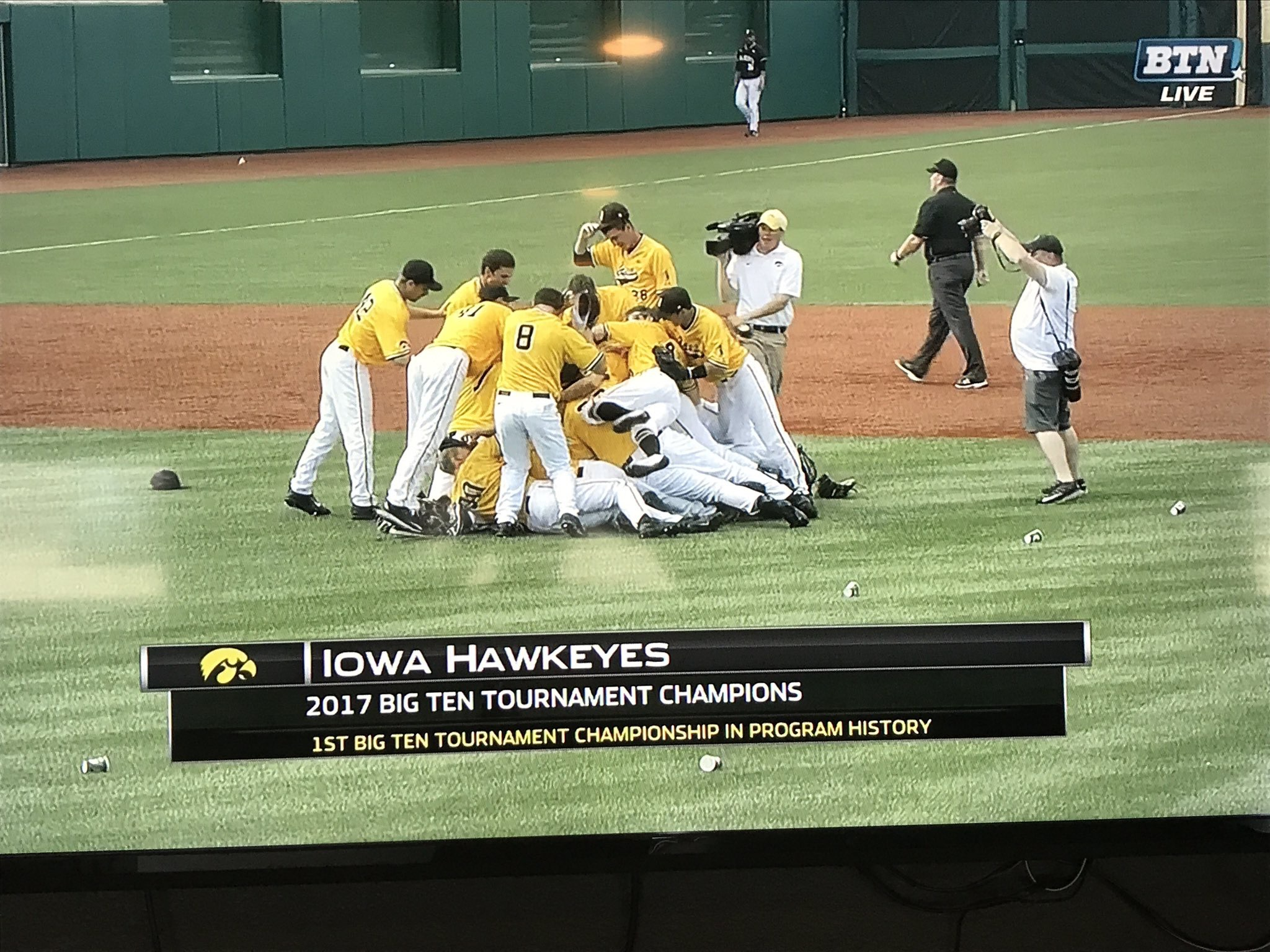 Iowa Baseball Wins The B1G Tournament Of Champions!