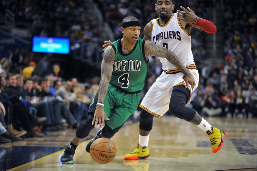 9160781 isaiah thomas kyrie irving nba boston celtics cleveland cavaliers i have had about enough of these celtics kyrie irving trade