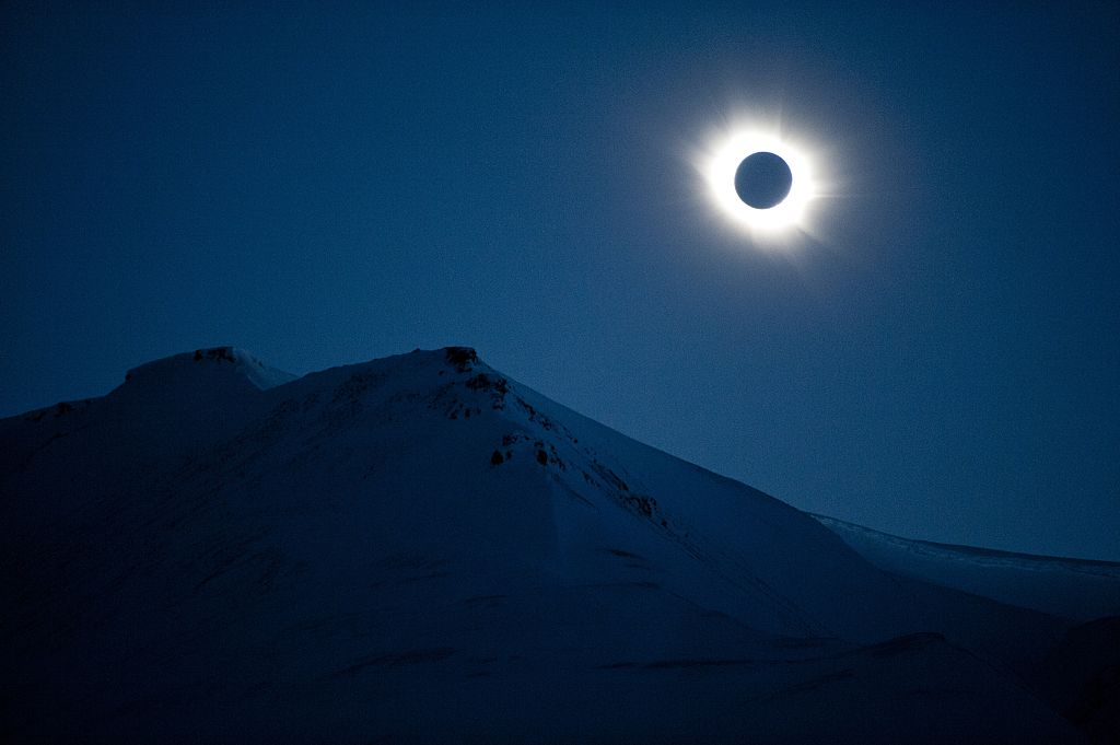 NORWAY-ASTRONOMY-ECLIPSE