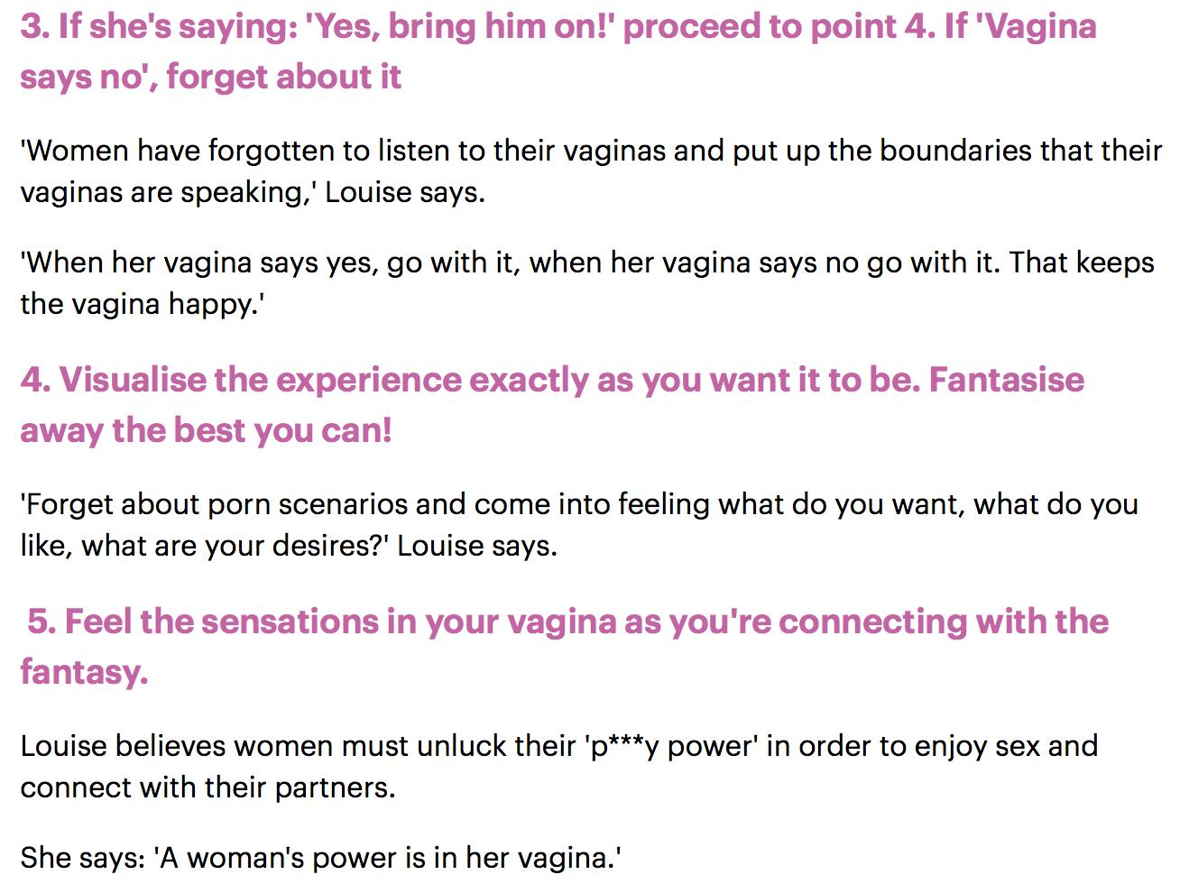 Why do women like sex