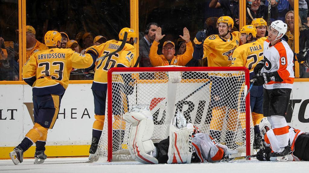 Philadelphia Flyers v Nashville Predators